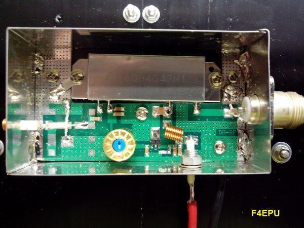 Amplificateur UHF.