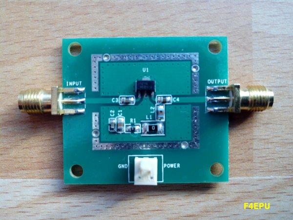 DATV UHF : quelques images.