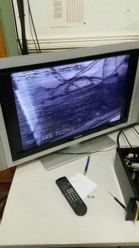 Essais de transmission ATV en 13cm