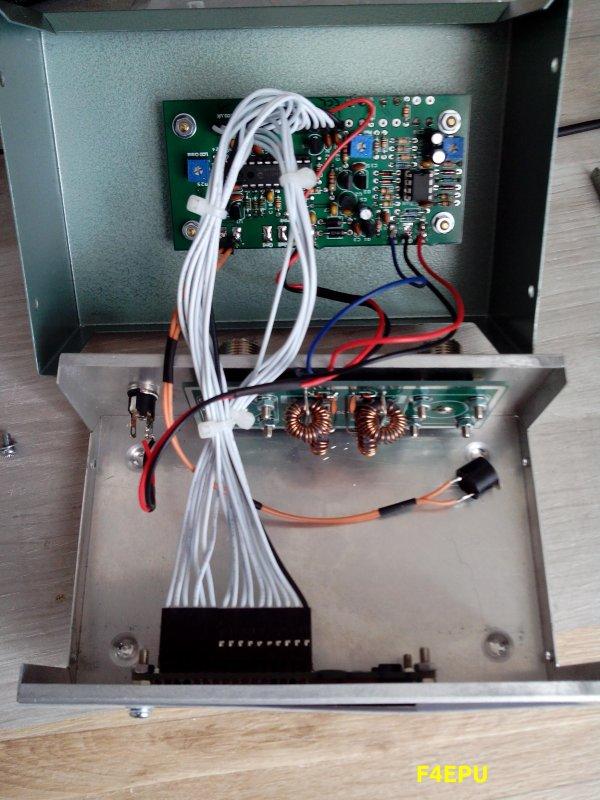 SWR meter HF en kit.