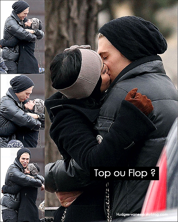 _ 16.02.2012 : Vanessa Hudgens a été vue avec son petit ami Austin Butler  s'embrassant dans Paris. TOP! _