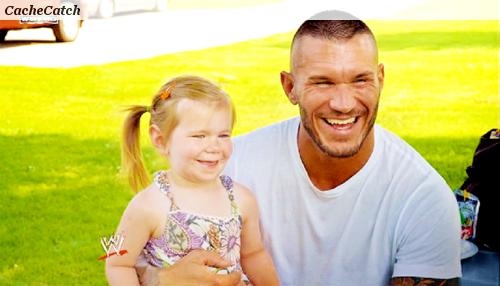 Randy orton et sa fille votre blog source sur l 39 univer - Catch de fille ...