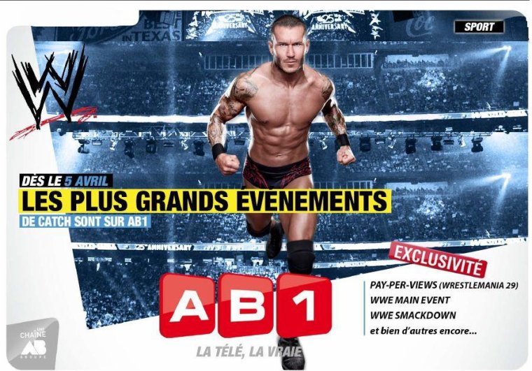 Les Pay-Per-Views de la WWE débarquent en France, en direct !