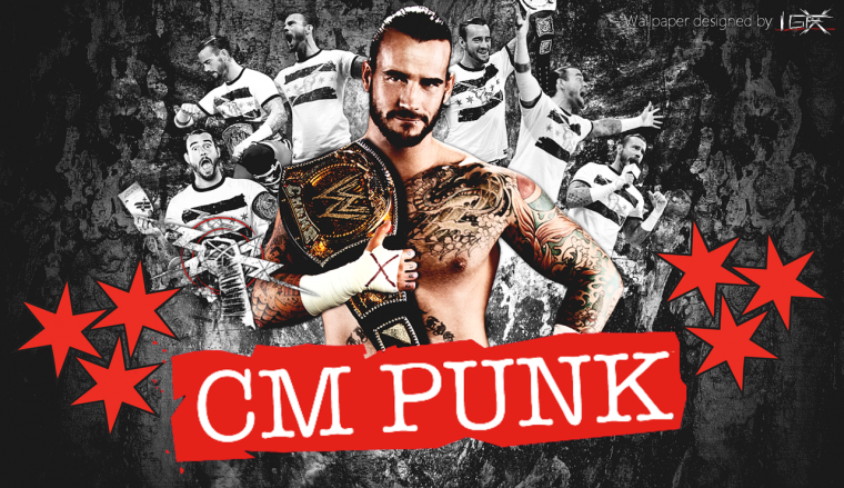 fond d ecran de CM punk