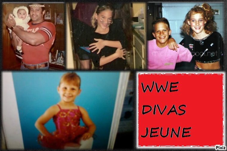 WWE divas jeune (article demandé)