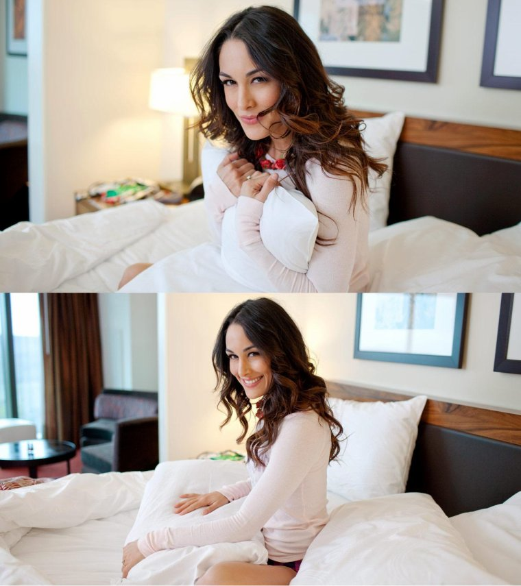 new photoshoot de brie bellas  PART 1