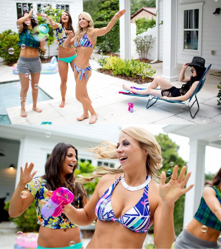 NXT SUMMER VACATION - POOL PARTY: PHOTOS