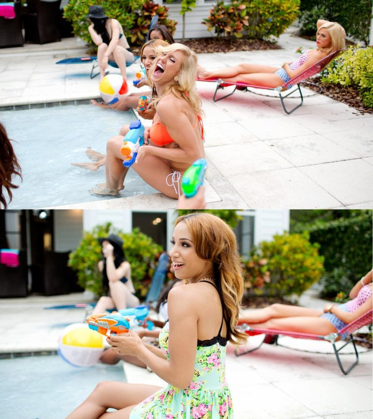 NXT SUMMER VACATION - POOL PARTY: PHOTOS part2