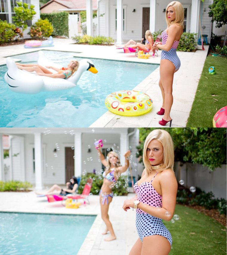 NXT SUMMER VACATION - POOL PARTY: PHOTOS part3