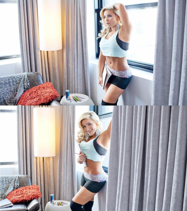 DIVA DAY OFF: FLEXING WITH NATALYA part1