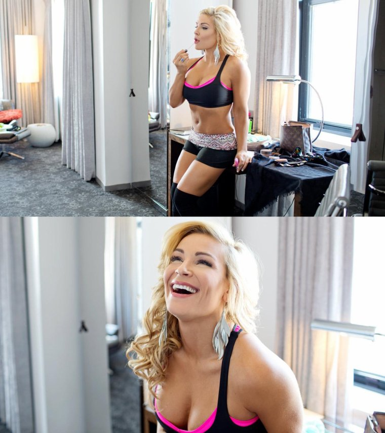 DIVA DAY OFF: FLEXING WITH NATALYA part2