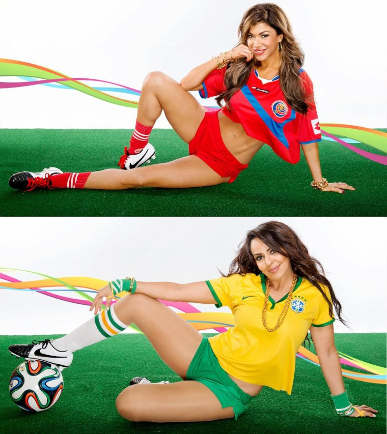WORLD CUP DIVAS 2014: PHOTOS