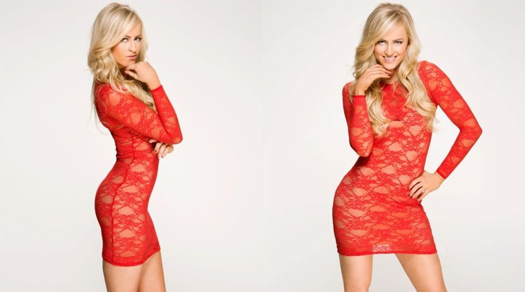 SUMMER RAE IN RED AND BLACK: PHOTOS (suite)