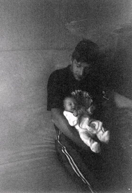 mon papa et moi bébé ♥