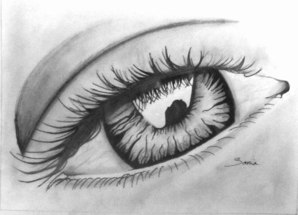 "mon dessin  ""eye"""