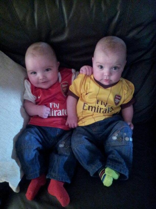 Little Gunners from Keith Mc Cauley .
