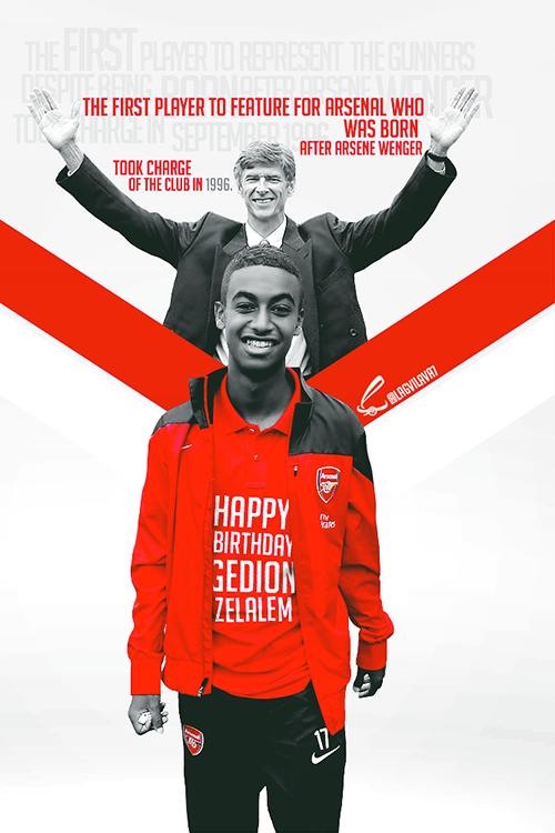 Joyeux anniversaire à Gedion Zelalem qui fête aujourd'hui ses 17 ans aujourd'hui. D'ailleurs il ne devrait pas tarder à signer son premier contrat pro avec Arsenal.