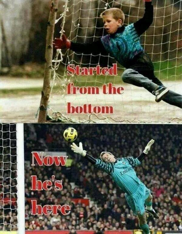 Started for the bottom, now the number one Goalkeeper in the Premier League!