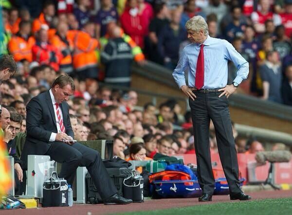 Le bilan d'Arsenal sous l'ère Wenger à Anfield (en Pl) est le suivant :  16 matchs disputés : 5 victoires, 5 nuls et 6 défaites. 20 buts marqués pour 29 buts encaissés.  Arsenal a remporté 3 de ses 4 derniers déplacements sur la pelouse de Liverpool.