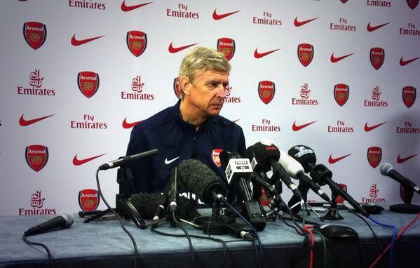 Arsène Wenger était ce matin en conférence de presse en vue du match de samedi (13h45) face à Liverpool, voilà quelques bribes de ses déclarations :
