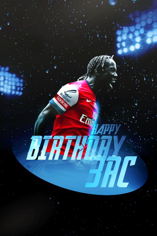 Bacary Sagna fête ses 31 ans aujourd'hui. Joyeux Anniversaire à lui et espérons qu'il prolongera bientôt à Arsenal !