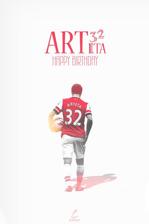 Mikel Arteta souffle aujourd'hui ses 32 bougies. Joyeux anniversaire à lui !