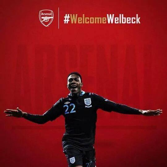 Welbeck à Arsenal, c'est officiel depuis quelques heures.