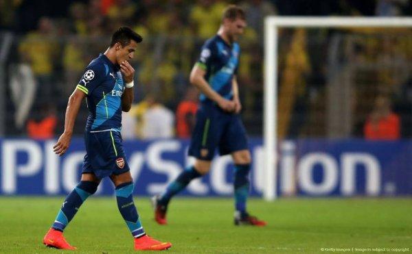Arsenal s'est pris le mur jaune en pleine face ce soir (victoire 2-0 des allemands au Westafalenstadion).
