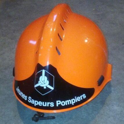 casque jeunes sapeurs pompiers CGF Gallet 1997