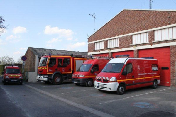 caserne pompiers de Wingles (62)