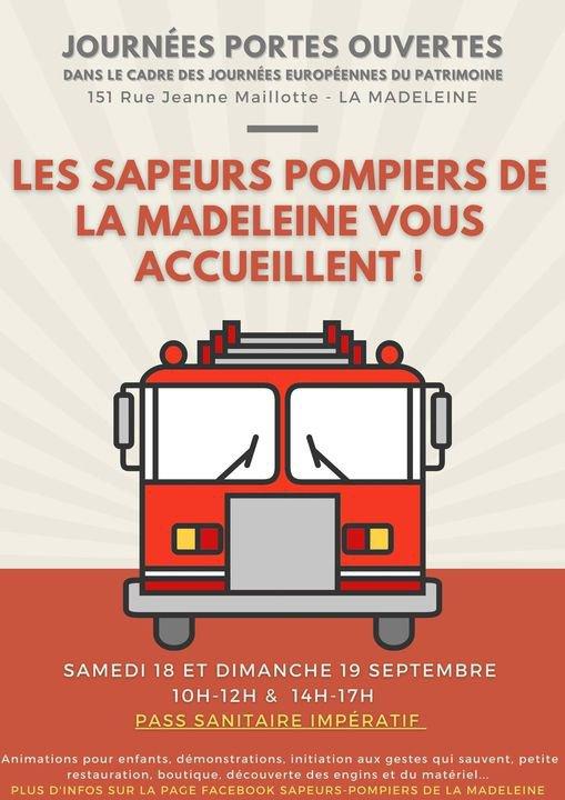 JPO (Journées Portes Ouvertes) à La Madeleine(59)