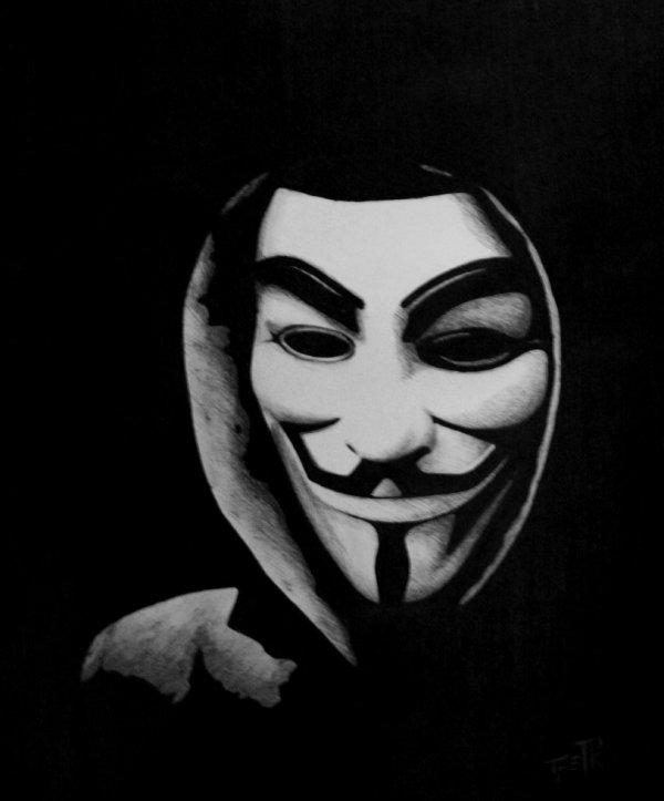 V pour Vendetta ou Anonymous