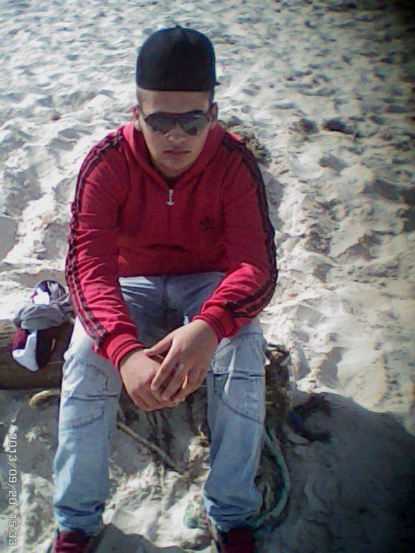 c moi sur la plage