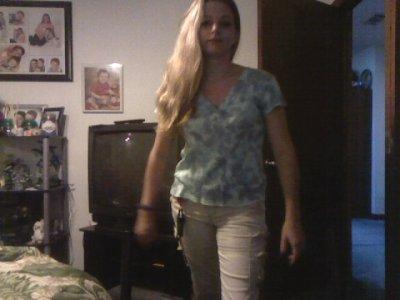 snapshot of me walking into my room