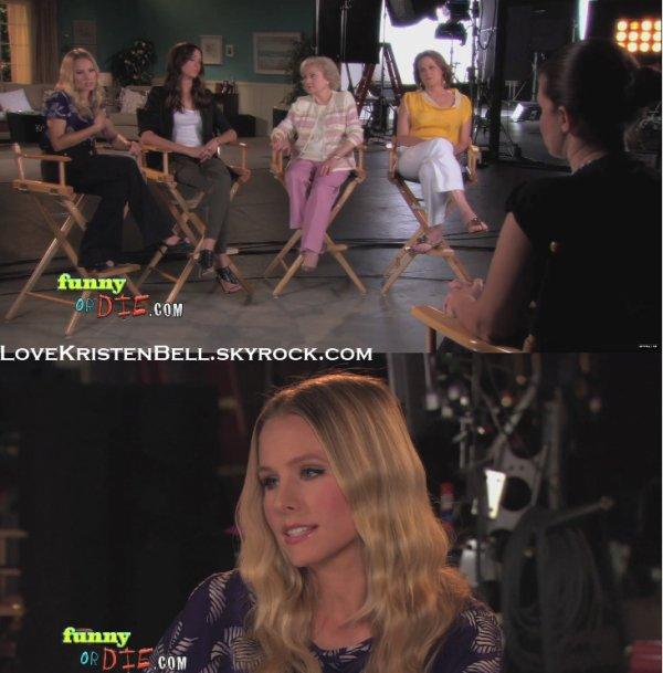 Kristen Bell et quelques actrices de You again ont fait une vidéo pour le site Funny Or Die.