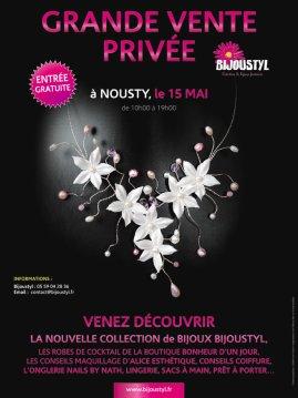Grande vente privée de Bijoustyl Venez nombreuses ! c'est  ce dimanche 15 mai à Nousty 64!