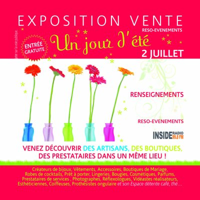 Grande Expo vente à Idron le 2 juillet de 14h00 à 22 h00