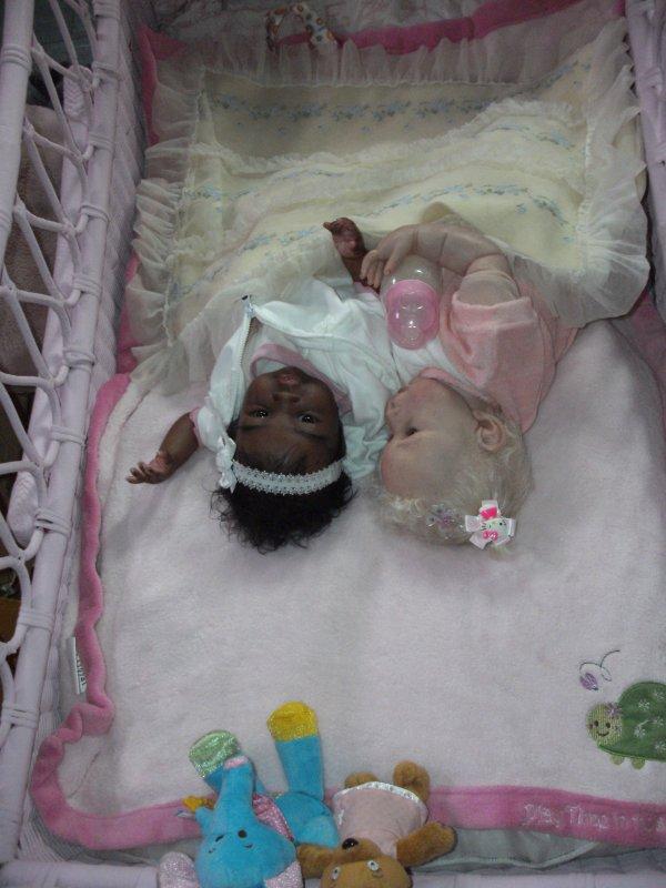 Bébé Reborn Blandine et Alanna