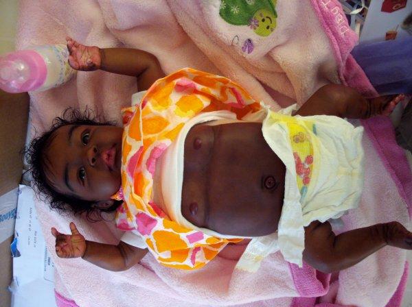 revoici les photos des derniers bébés arrivés