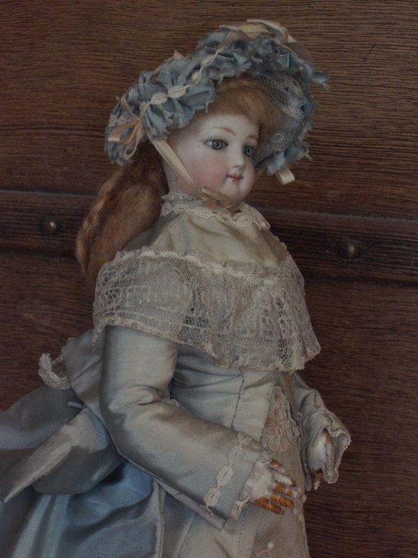 Céleste ma Poupée Parisienne ,Gaultier François pour la maison JUMEAU (Avant 1872)