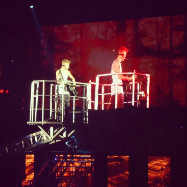 Concert de Justin Bieber à Paris Bercy le 19.03.13. <3