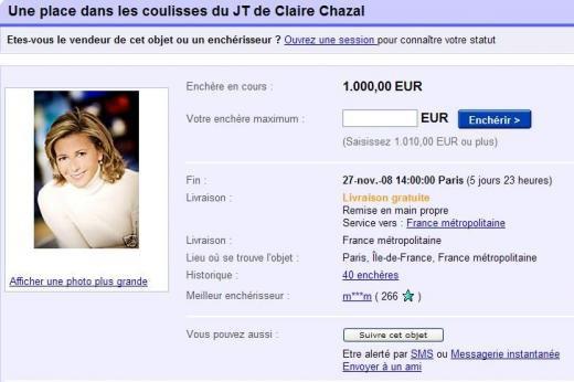 21/11/2008 | Claire sur e-bay