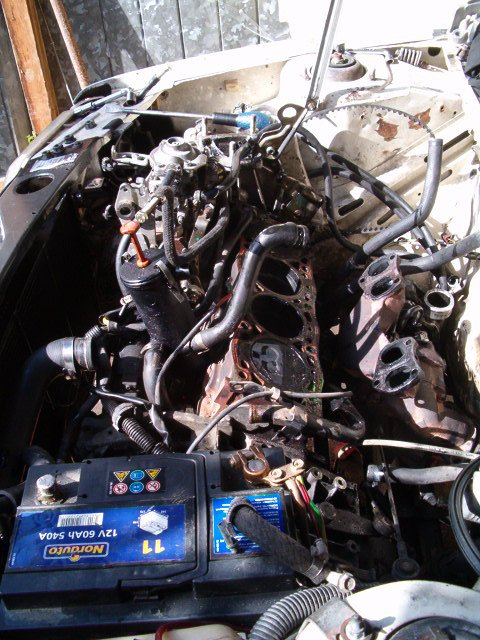 moteur découvert