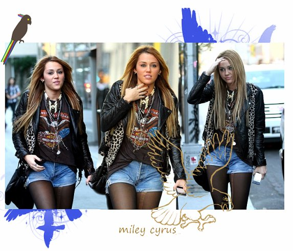 Miley à New York City