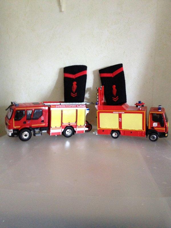 camion pompier miniature