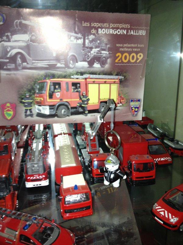collection camion de pompier