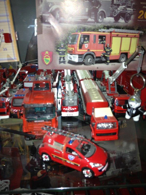 voiture pompier