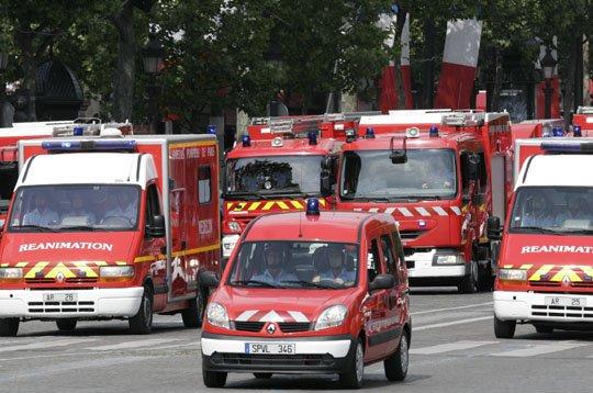 La brigade de sapeurs-pompiers de Paris