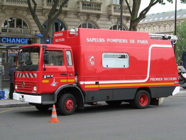 camion de Pompiers de Paris