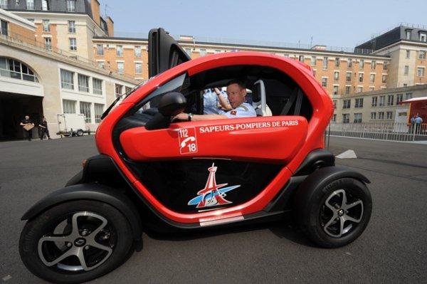 BSPP Nouveau véhicule 100% électrique